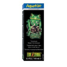 Exo Terra Aquatize Terrarium Water Conditioner - 3.3 oz.