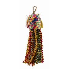 <strong>Hagen</strong> Living World Nature's Treasure Buri Pinata Hookbill Bird Toy