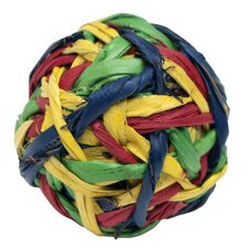 Living World Nature's Treasure Knot Ball Foot  Hookbill Bird Toy
