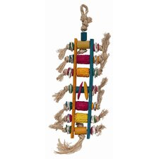 Living World Nature's Treasure Corn Cob Ladder  Hookbill Bird Toy