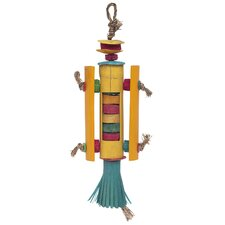 Living World Nature's Treasure Rocket Ship  Hookbill Bird Toy