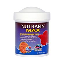 Nutrafin Max Betta Food Color Flakes - 85 oz.