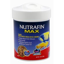 Nutrafin Max Mysis Flakes Fish Food - 1.24 oz.
