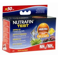 Nutrafin Ammonia Test Kit Nitrate for Fresh and Saltwater - 50 Tests