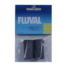 Fluval Rubber Adapter for Ribbed Hosing and Fluval 104, 105, 204, 205 - 2 Pack