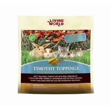 Living World Timothy Toppings Veggie Mix Small Animal Treat - 19.5 oz.