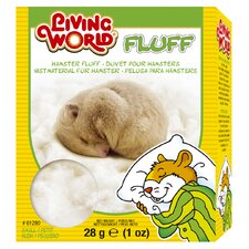 Living World Hamster Fluff Nesting - 1 oz.