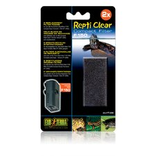 Exo Terra Repti Clear Replacement Foam Block - 2 Pack