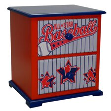 Baseball All Star Nightstand