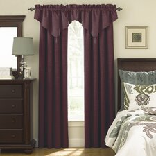 Room Darkening Rod Pocket Ascot Window Treatment Collection