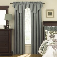 <strong>Sound Asleep</strong> Room Darkening Rod Pocket Ascot Window Treatment Collection