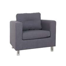 Detroit Arm Chair in Dark Gray