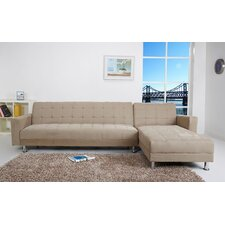 Frankfort Convertible Sectional Sofa with Right Facing Chaise