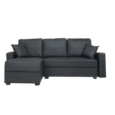 Aspen Convertible Sectional Sofa with Left Facing Chaise