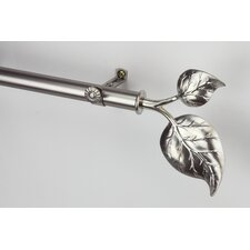 Modern Ivy Curtain Rod and Hardware Set