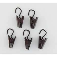<strong>Rod Desyne</strong> Clip with Hooks (Set of 24)