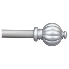 <strong>Rod Desyne</strong> Classic Pumpkin Curtain Rod and Hardware Set