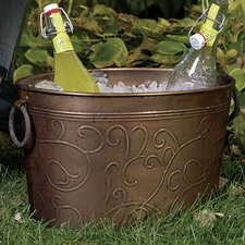 Kindwer Antiqued Vine Oval Tub