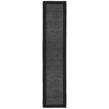 Pulse Grey Border Rug