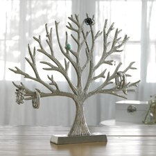 Kindwer Aluminum Decorative Tree of Life Jewelry Stand