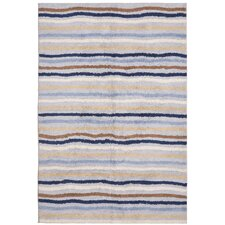 Carousel Blue Ziggy Kids Rug