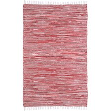 Complex Red Rug