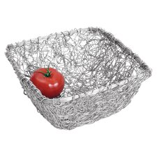 <strong>St. Croix</strong> Kindwer Square Twist Wire Mesh Basket