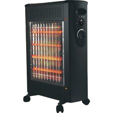 1,500 Watt Radiant Radiator Quartz Space Heater