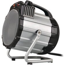 Fan Forced Utility Portable and Shop Space Heater with Thermostat