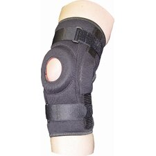ProStyle Hinged Patella Wrap in Black