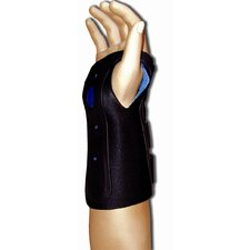 Ortho Armor Wrist Immobilizer in Black / Blue