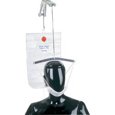 Overdoor Cervical Traction Kit Universal in White / Silver / Clear