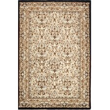 American Home Classic Sivas Taupe/Black Rug