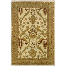American Home Classic Arts & Crafts Antique Ivory/Sage Rug