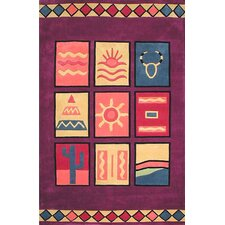 <strong>American Home Rug Co.</strong> Bright Rug Purple Sizzle Novelty Rug