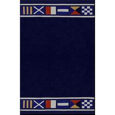 Beach Rug Nautical Flags Novelty Rug