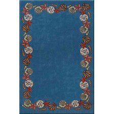<strong>American Home Rug Co.</strong> Beach Rug Blue Coral Reef Novelty Rug