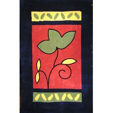 <strong>American Home Rug Co.</strong> Bright Rug A Single Flower Novelty Rug