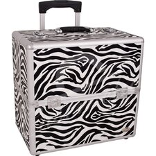 Animal Print Rolling Makeup Case