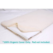 <strong>Moonlight Slumber</strong> All-in-One Organic Cotton Changing Table Pad Coverlet