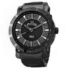 Men's 562 Watch in Black with Black Dial
