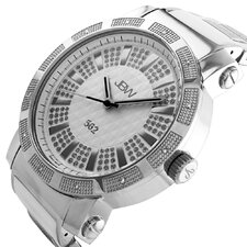 Men's 562 Watch in White / Silver