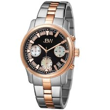 <strong>JBW</strong> Women's Alessandra Watch in Silver / Rose-Gold