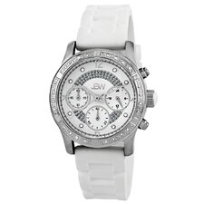 Women's Venus Watch in White Silicone