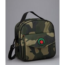 <strong>Mat Sack</strong> Ethan Placemat Lunch Bag in Camo / Orange with optional Lunch Sack
