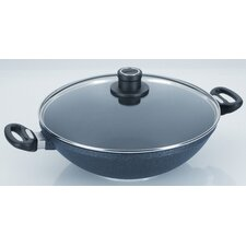"Diamond Plus 12.5"" Wok with Lid"