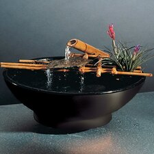 Ceramic Nature Bowl Medi Tabletop Fountain