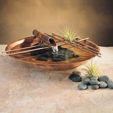 Nature Bowl Small Tabletop Fountain