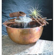 Copper Gentle Flow Tabletop Fountain