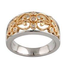 14kt Cubic Zirconia Ring